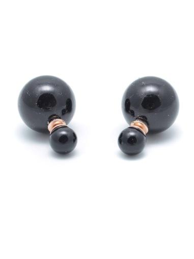 It Takes Two Earrings - Black