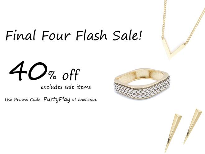 3 Final Four Flash Sale 2015 copy