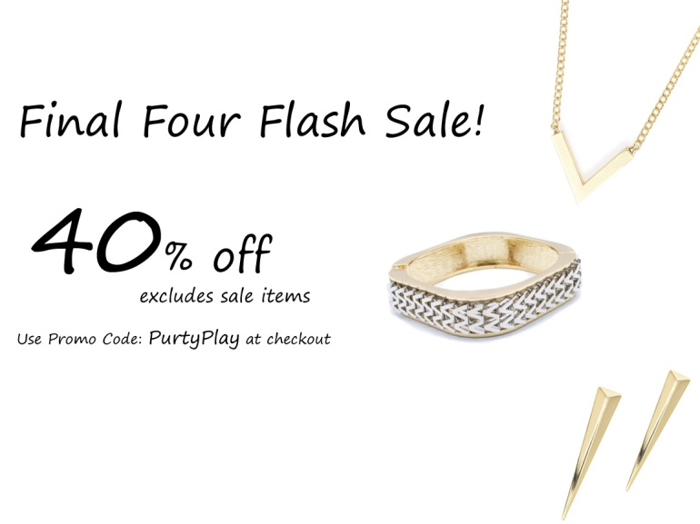 3 Final Four Flash Sale 2015 copy