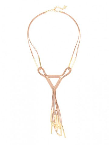 All Tied Up Fringe Necklace