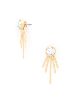 Jackie Spike Earrings