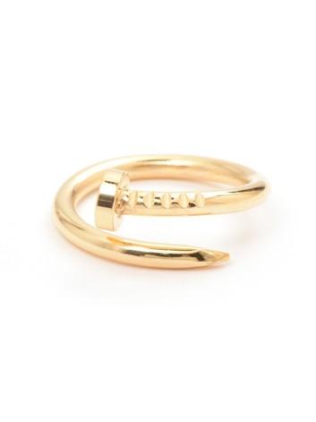 Twisted Nail Ring