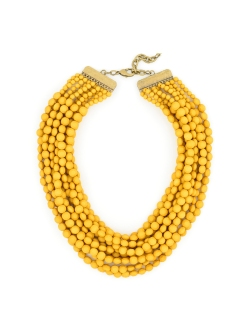 Tessa Beaded Necklace, Honey