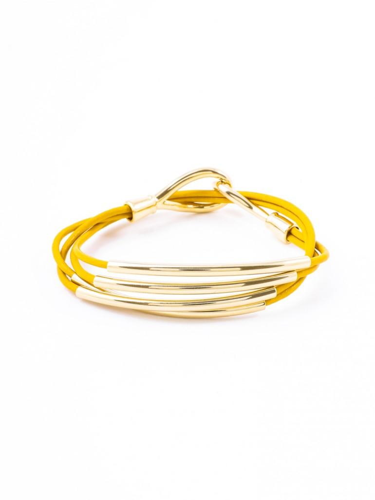 Piper Wrap Bracelet, Honey