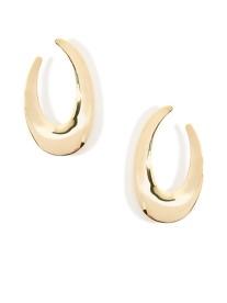Calliope Earrings, Gold