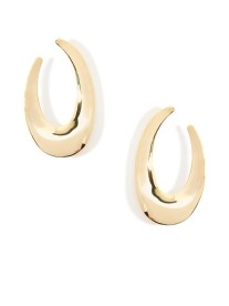 Calliope Earrings, Gold
