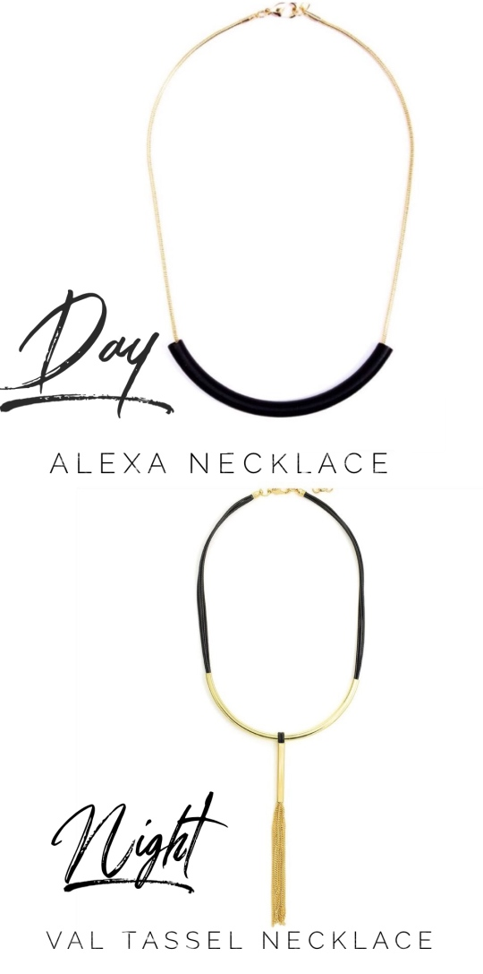 Day to Night necklaces