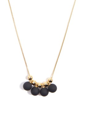 Hope Necklace, Black