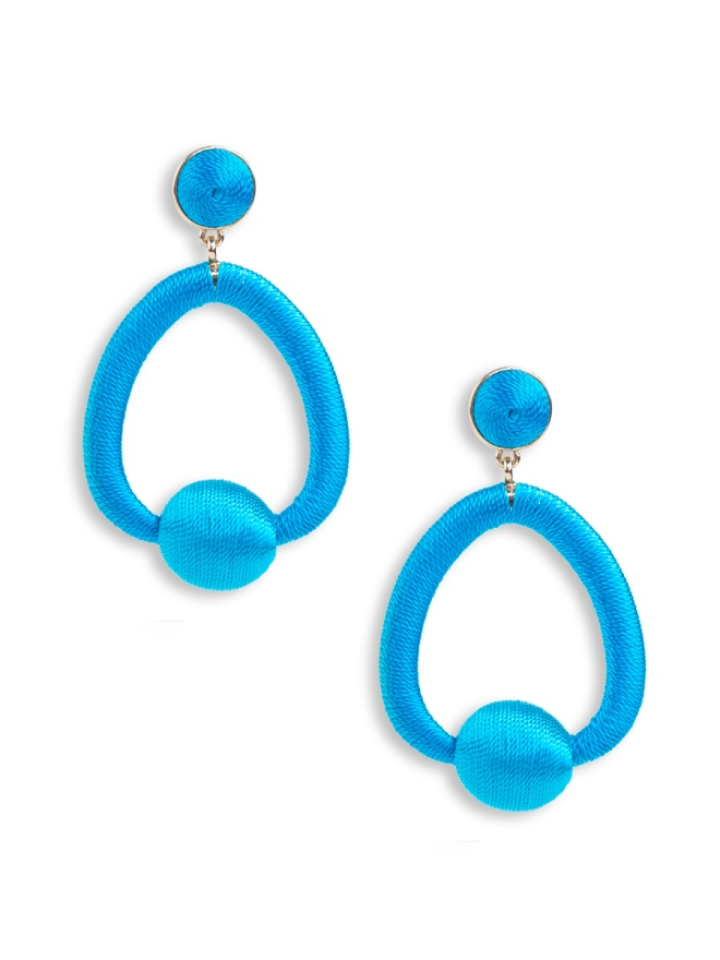 Ginny Earrings - Blue