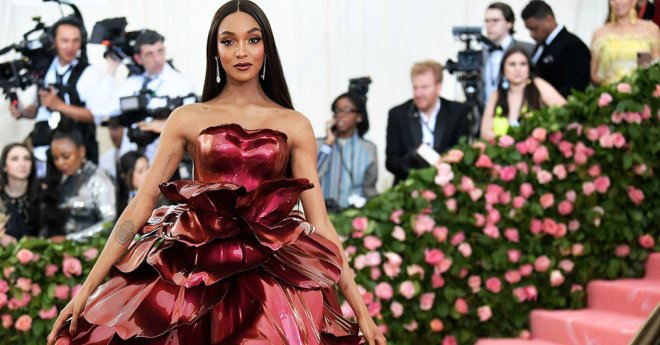 Jourdan Dunn Met 2019