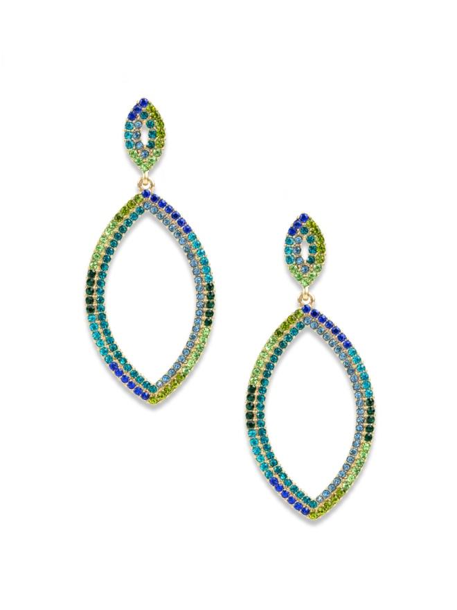 Nicole Earrings Blue